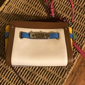 Small multi. Color Coach purse